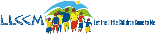 LLCCM – Let the Little Children Come to Me Logo